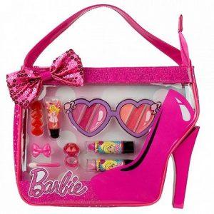 Barbie Игровой набор детской декоративной косметики в сумочке 9600951