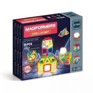 Магнитный конструктор Magformers Neon LED 709007