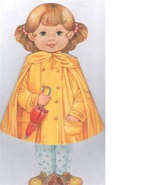 Кукла книжка Иришка Желтая Книга Степанова 0+