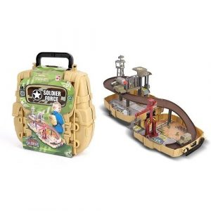 Набор Нано-армия Мини трек в рюкзаке с наполнением 524002