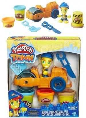 Игрушка Hasbro Play-Doh Паровой каток В6282