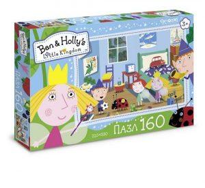 Ben & Holly Пазл 160А Давай играть! 02862