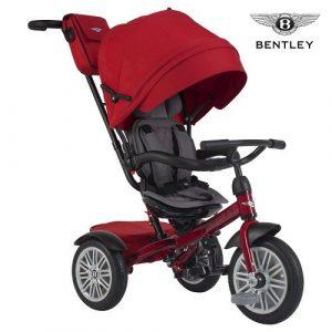 Велосипед 3-х колесный Bentley цвет красный BN1R