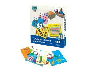 Сундучок знаний BRAINBOX Математика учебное пособие для детей 5-7 лет 90760