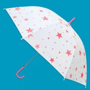 Зонт Звездочки 53см прозр Ami&Co 25980