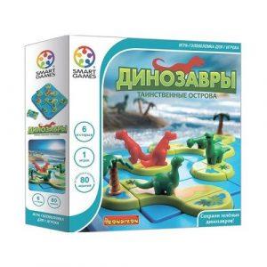 Логическая игра BONDIBON Динозавры Таинственные острова BB1883