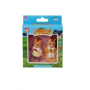 Игровой набор Фигурки животных семья лошадок 012-15С