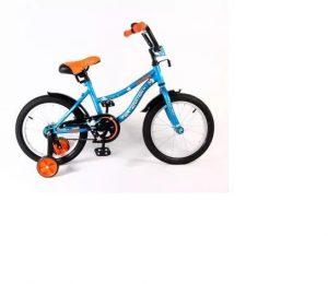 Велосипед NOVATRACK 12 NEPTUNE синий защита А тип короткие крылья нет багажника