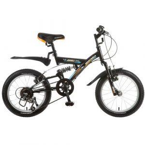 Велосипед Novatrack 16 Dart 5 скоростей черный Microshift алюм обода