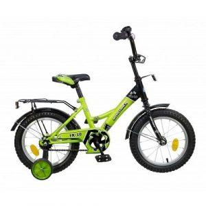Велосипед Novatrack 14 FR-10 зеленый 077414