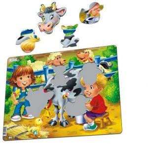 LARSEN BM5 Дети на ферме Корова 86276