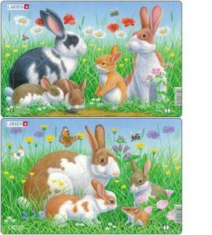 LARSEN CU3 Кролики 88127