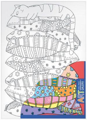 Набор для творчества AIRIS PRESS Основа для творчества средняя Спящий котенок 25872 0+