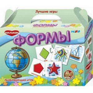 Детская настольная игра пазл развивающий Формы ПЛ8008Н
