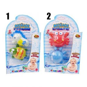 Веселое купание Игрушка брызгалка для ванной 2 шт