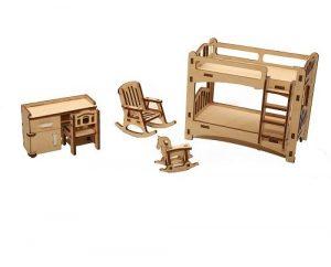 Мебель для куклы Детская М-002