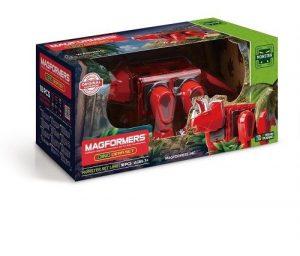 Магнитный конструктор Magformers Dino Cera Set 18P 716002