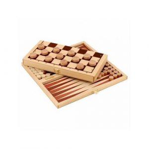 Набор настольных игр Шашки+нарды И658
