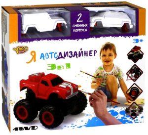 Я Автодизайнер Игровой набор 3 в 1 М6540-2