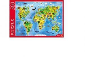 Пазл Животные мира 500 элементов Ф500-7199