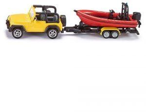 SIKU Джип с лодкой 1658