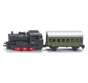 SIKU Локомотив с пассажирским вагоном 1657