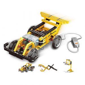 Конструктор электромеханический Гоночная машина 216 эл 1401