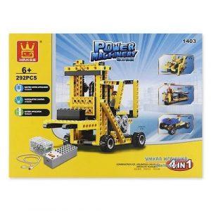 Конструктор электромеханический Погрузчик 292 эл 1403