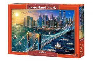 Пазл Castorland Бруклинский мост 500 деталей В-52646 9+
