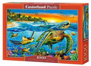 Пазл Castorland Морские черепахи 1000 деталей C-103652 3+