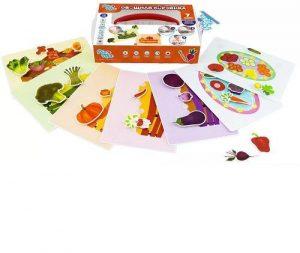 Игра настольная развивающая Овощная корзинка 112030-112013