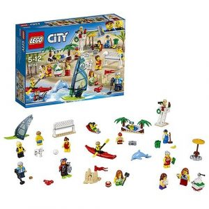 Игрушка Lego City Отдых на пляже жители 60153
