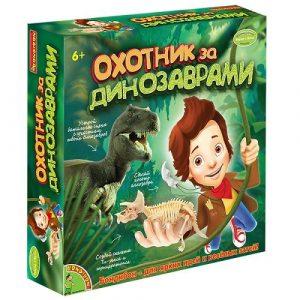 Французские опыты Науки с Буки Bondibon Охотники за динозаврами BB2016