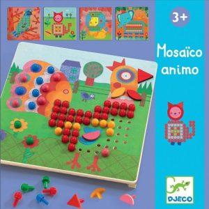DJECO Игра Мозаика Животные 08137