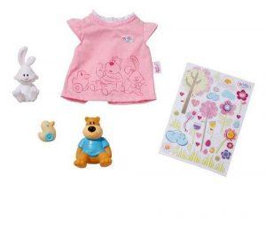 Игрушка BABY born Одежда и животные в коробке 819-616