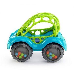 Развивающая игрушка Baby Trend Машинка голубая 81510-3