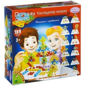 Конструктор мозаика 189 деталей BONDIBON BOX 25