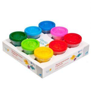Набор для детской лепки Genio Kids Тесто пластилин 8 цветов ТА1045