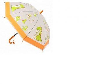 Зонт Amico Динозаврик 49 см прозрачный матовый 42463