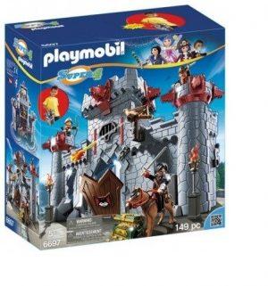 Игровой набор Playmobil Супер4 Возьми с собой Черный замок Барона 6697pm