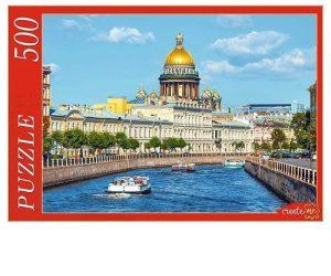 Пазл Рыжий кот Россия Санкт Петербург Исаакиевский собор 500 элементов ГИ500-7898