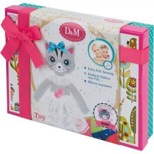 Набор для творчества Docha Mama Шьем игрушку из фетра Кошка Алиса подарочная 66051