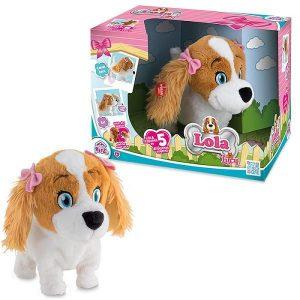 Интерактивная игрушка IMC Toys Собака Lola интерактивная коммуницирует с Lucy 5 команд 170516