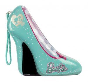 Игровой набор Markwins Barbie детской декоративной косметики в туфельке зеленый 9600651