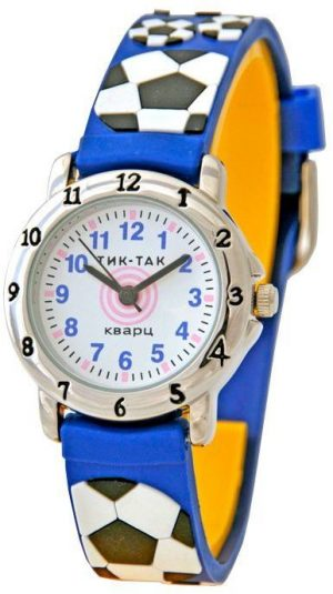 Часы наручные Тик Так синие мячи Н105-2