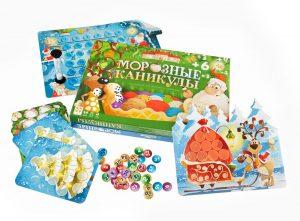 Настольная игра Стиль жизни Морозные каникулы