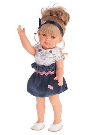 Кукла Antonio Juan Белла в синем платье 45 см 2809В