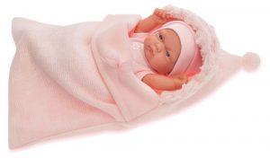 Кукла младенец Antonio Juan Карла в розовом конверте 26 см 4066Р