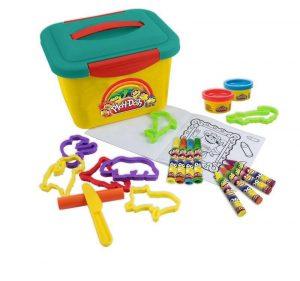 Набор Play Doh Маленькая мастерская 4 минимаркера 4 восковых мелка 8 моделей животных CPDO011