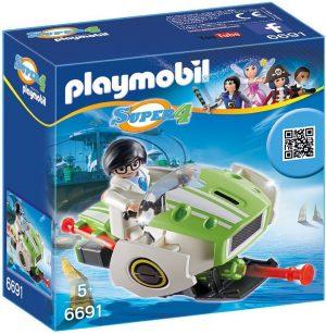 Игровой набор PLAYMOBIL Супер 4 Скайджет 6691pm